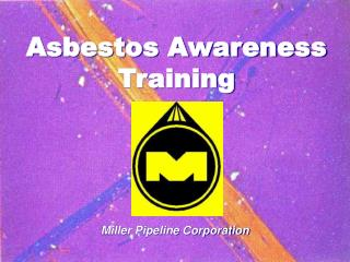 Asbestos Awareness Training