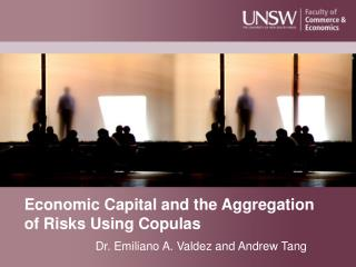 Economic Capital and the Aggregation of Risks Using Copulas