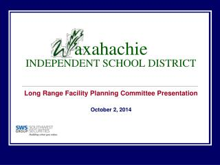 axahachie INDEPENDENT SCHOOL DISTRICT