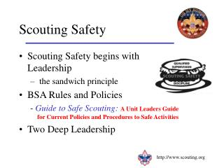 Scouting Safety