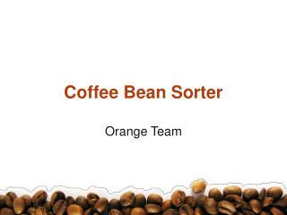Coffee Bean Sorter