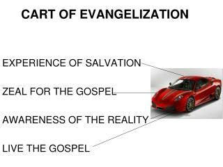 CART OF EVANGELIZATION