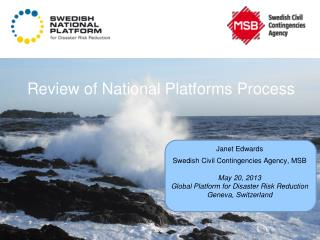 Review of National Platforms Process