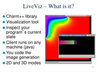 LiveViz – What is it?