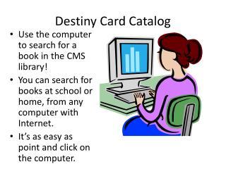 Destiny library management software