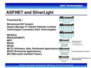 ASP.NET and SilverLight