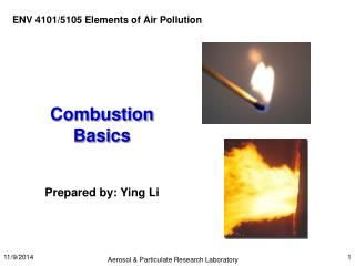 Combustion Basics