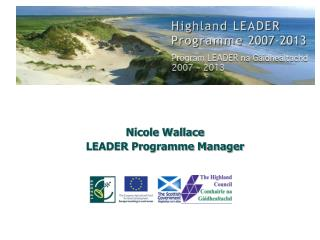 Nicole Wallace LEADER Programme Manager