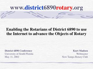 district 6890 rotary