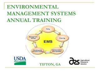 ENVIRONMENTAL MANAGEMENT SYSTEMS ANNUAL TRAINING