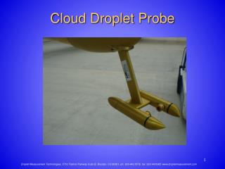 Cloud Droplet Probe