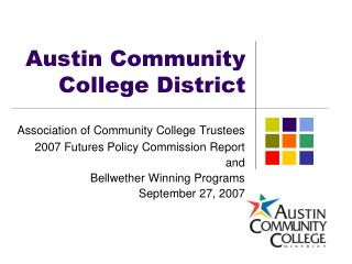 Austin Community College District