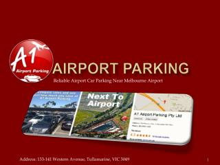 Reliable Airport Car Parking Near Melbourne Airport