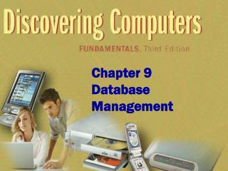 Chapter 9 Database Management