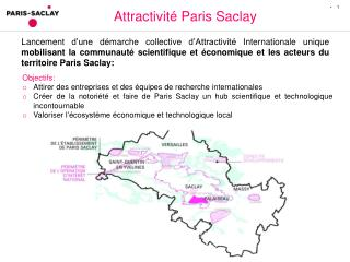 Attractivité Paris Saclay