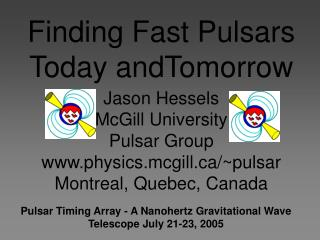 Finding Fast Pulsars Today andTomorrow