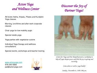 Discover the Joy of Partner Yoga!