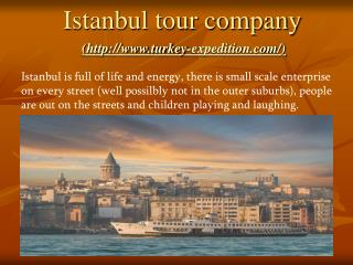 Istanbul tour company