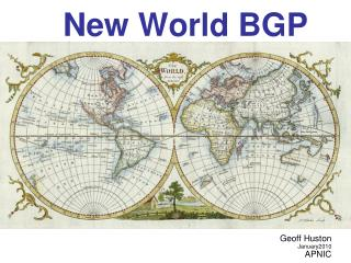 New World BGP