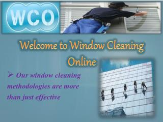 Why Window Cleaning Online?