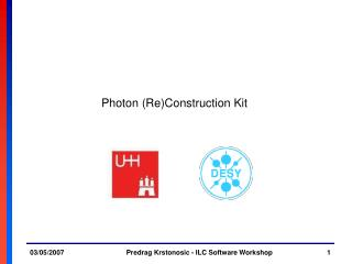 Photon (Re)Construction Kit