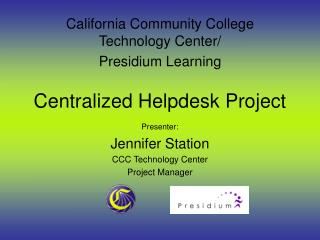 Centralized Helpdesk Project