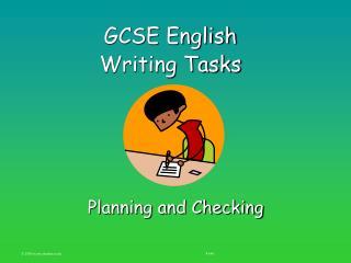 GCSE English Writing Tasks