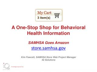 A One-Stop Shop for Behavioral Health Information