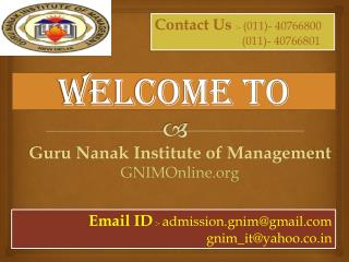 About Management Courses in Delhi