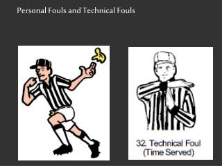 Personal Fouls and Technical Fouls