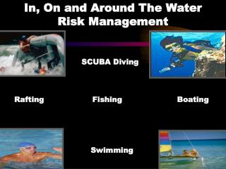 In, On and Around The Water     Risk Management