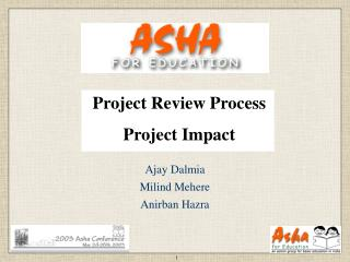 Project Review Process Project Impact