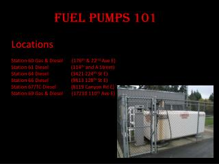 Fuel Pumps 101
