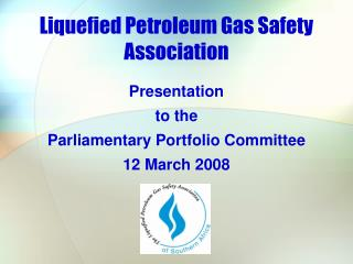 Liquefied Petroleum Gas Safety Association