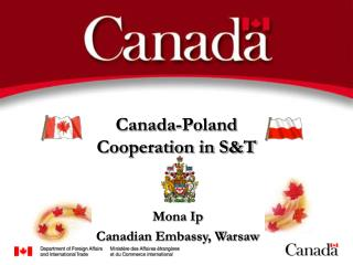 Canada-Poland  Cooperation in S&T