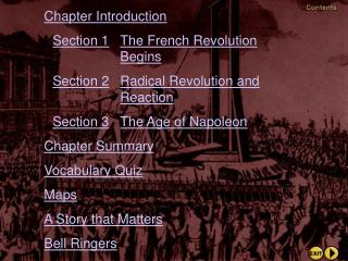 Chapter Introduction Section 1 The French Revolution  Begins