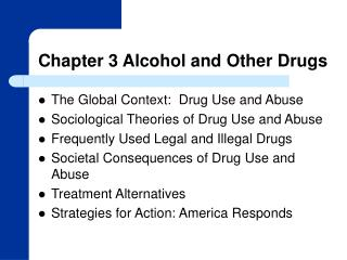 Chapter 3 Alcohol and Other Drugs