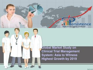 Global Clinical Trial Management System Market Research Repo