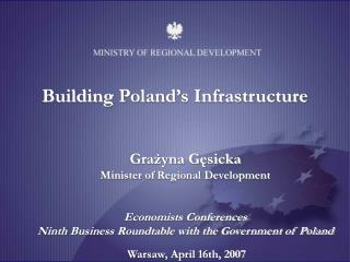 Building  Poland's Infrastructure