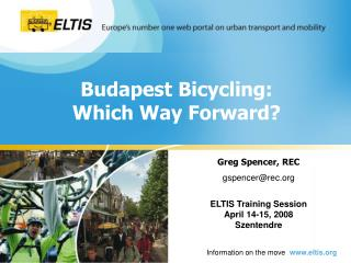 Budapest Bicycling: Which Way Forward?