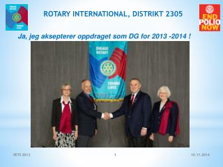 ROTARY INTERNATIONAL, DISTRIKT 2305