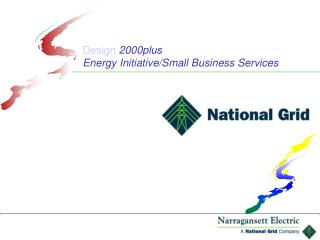 Design 2000plus Energy Initiative/Small Business Services