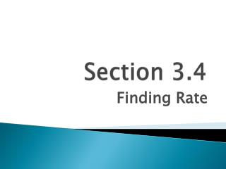 Section 3.4