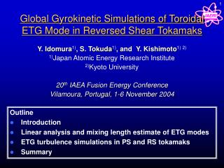 Global Gyrokinetic Simulations of Toroidal ETG Mode in Reversed Shear Tokamaks