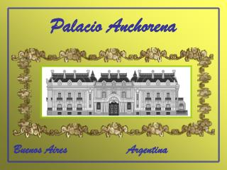 Palacio Anchorena