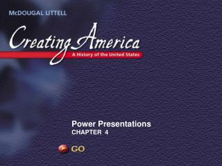 Power Presentations CHAPTER  4