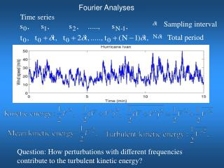 Fourier Analyses