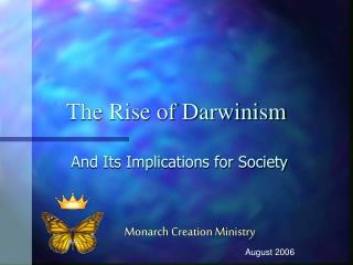 The Rise of Darwinism