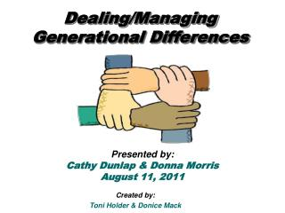 Dealing/Managing Generational Differences
