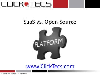 What is SaaS vs Open Source for websites